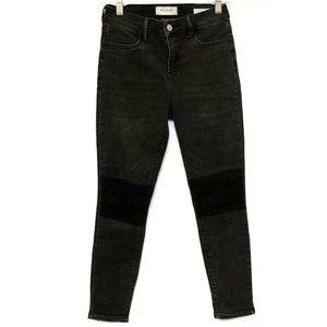 PacSun Colorblock High Rise Jeggings Jeans 26